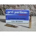 munition Partizan 7.5x55 suisse