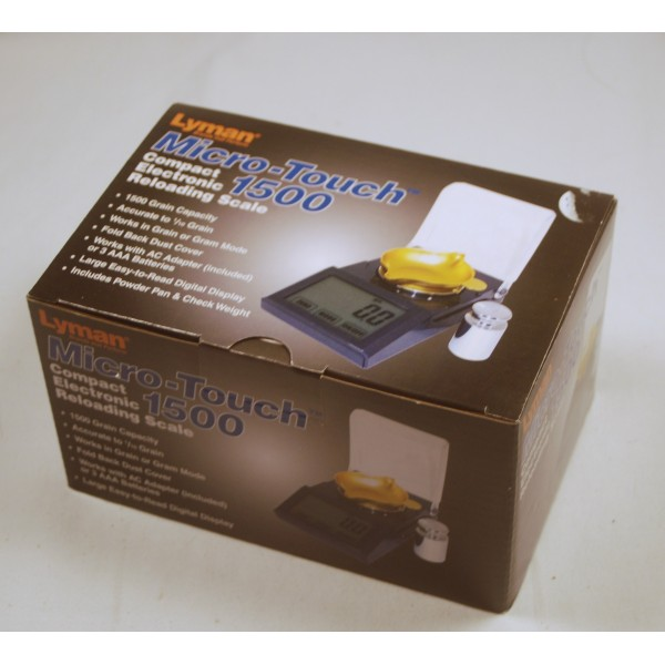 Amazon.com: Lyman Accu-Touch 2000 Electronic Scale 115/230V ...