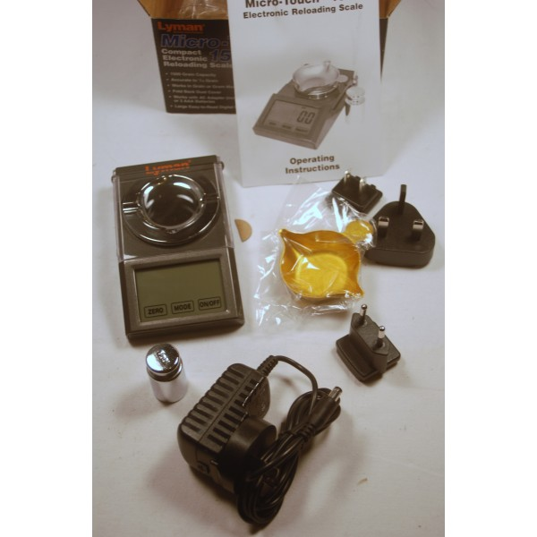 Lyman Accu-Touch 2000 Electronic Scale 115/230V 7751558 | eBay